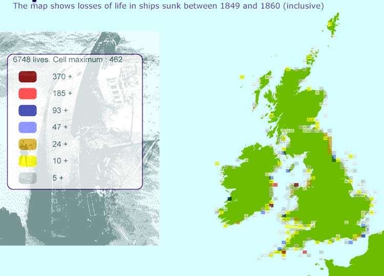 Shipwrecks UK - Shipwrecks in the seas of Britain and Ireland